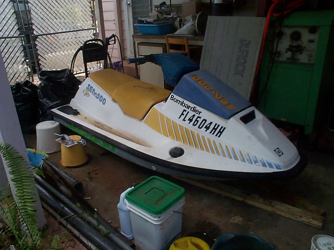 FirstShot Its A 1991 SeaDoo SP